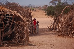 Children in Masai Village II (EricK_1968) Tags: africa child view african group picture culture tribal villages east ethnic swahili afrique ephoto ethnology eastafrica qunia  africanvillages  kea  doublyniceshot  mygearandmepremium photoswahili