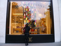 Vitrine loja Louis Vuitton (Paris)