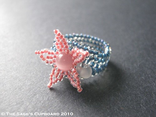 Baby Fish Blues Ring