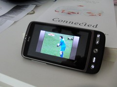 watching the worldcup mobile ( Android H by Retinafunk, on Flickr