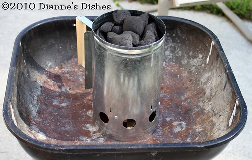My New Charcoal Chimney