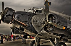 Ju 52 Deutsche Lufthansa Berlin Stiftung (Michis Bilder) Tags: berlin aviation lufthansa hdr ju52 junkers stiftung ilaberlin hdrdreams