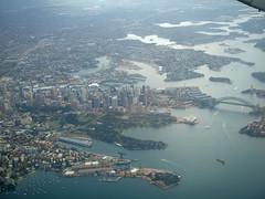 Sydney aerial_004 (mgrenner57) Tags: bridge geotagged harbor opera skyscrapers sydney aerialview australia operahouse harbourbridge 2010 oceania