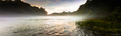 A River Runs Through It (Greg Booher) Tags: sunset panorama usa water canon river bristol spring tennessee sullivan 1855 xsi gnd holstonriver