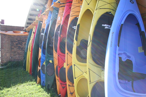 kayak rainbow