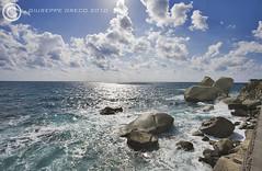 IN THE WIND... (GIUSEPPE GRECO PHOTO) Tags: travel blue sea summer italy panorama sun seascape reflection clouds canon landscape island eos marine rocks campania 5d ischia forio 2010 1740l giuseppegreco