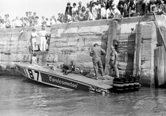 PB76 19 (Tony Withers photography) Tags: classic monochrome boat seaside power offshore august racing historic boating 1978 championships powerboats 1970s excitement 187 margate thanet allhallows isleofthanet noeledmonds canicometoo tonywithers tonywithersphotography