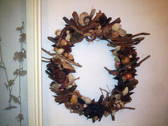 Handmade Wreath (TzoFeltedGood) Tags: handmade wreath handcrafted