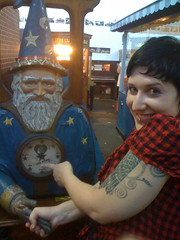 Love wizard (elziard) Tags: tattoo museum pier san francisco mechanical antique arcade 45 musee penny mecanique coinoperated zelinsky