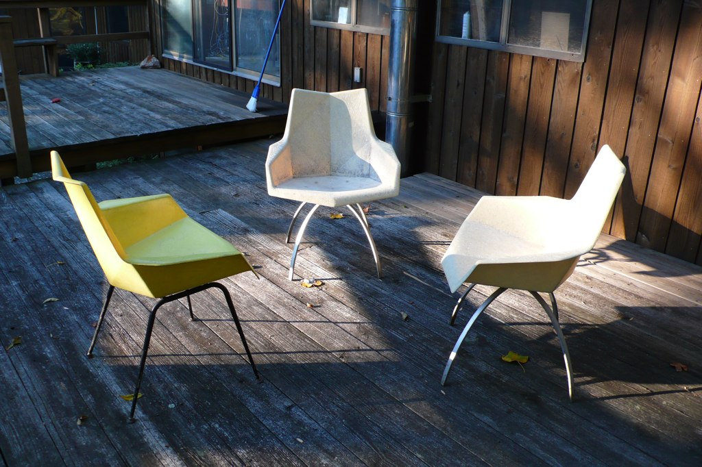 1959 Directional Contract Furniture 161 and 171 Arm Chairs manufactured by St. John Seating