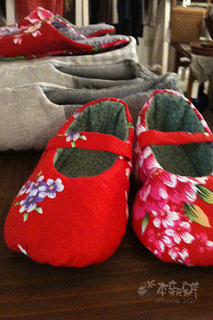 小女孩的小紅鞋