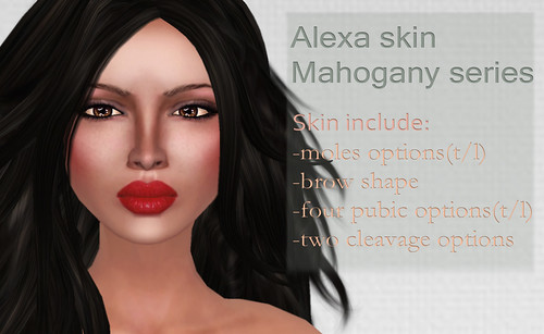 Alexa skin Mahogany series and shape