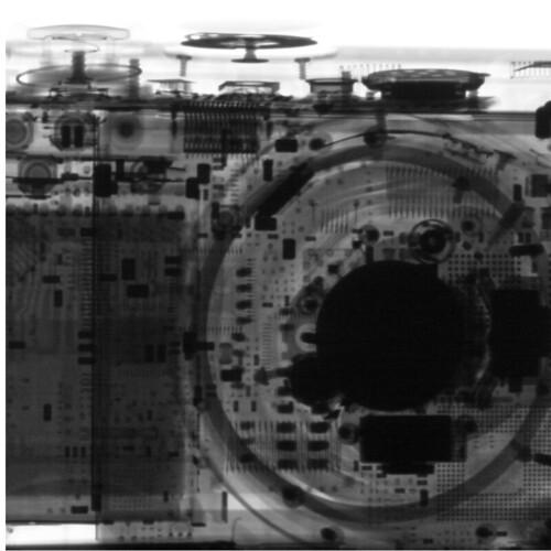 CT Scan of Digital Camera