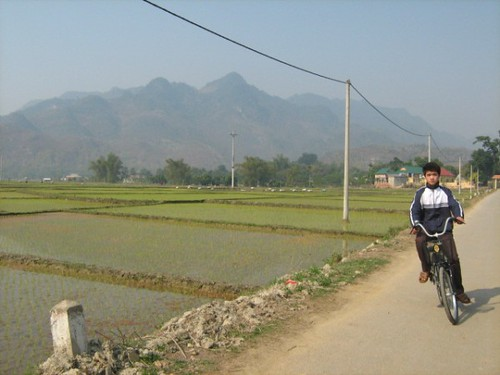 Along the way, Mai Chau, Hoa Binh, Vietnam