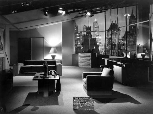 THE FOUNTAINHEAD APARTMENT LIVING ROOM