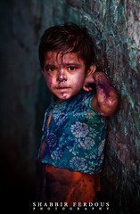 The Color Purple (Shabbir Ferdous) Tags: blue boy red portrait people colors childhood festival religious kid colours photographer child purple shot dhaka hindu holi bangladesh bangladeshi canoneos5dmarkii canonef70200mm28lisusm shabbirferdous oldtowndhaka shakharibazaar wwwshabbirferdouscom shabbirferdouscom