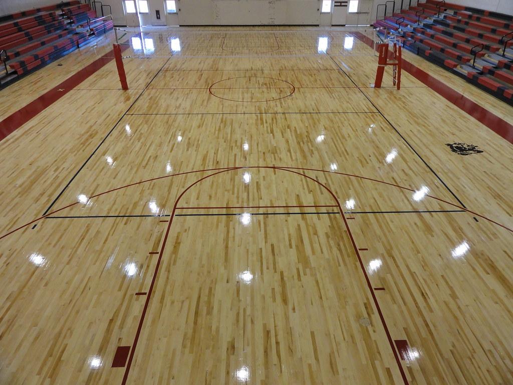 New Floor Red Mesa High School Scissor-loc 2