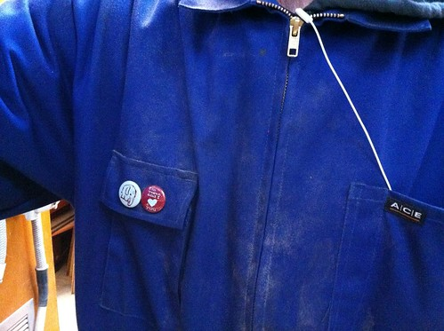 Badges on my overalls