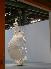 At the museum - Tim Hawkinson (catheadsix) Tags: la moca timhawkinson geffencontemporary theartistsmuseum