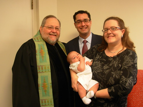 Wagliardo baptism with Dick