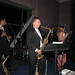 The band plays after dinner at the President's Ball
