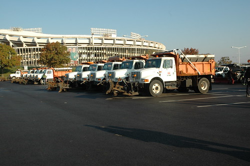 Snow Plows at RFK Stadium by DDOTDC, on Flickr