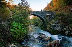 Philou (kzappaster) Tags: bridge film river pentax kodak fisheye greece 16mm zenitar 400asa programa stonebridge philou ultramax gc400 kmount tzoumerka arachthos kalarrytes hepirus ringexcellence dblringexcellence