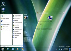 Windows 8 Desktop Concept