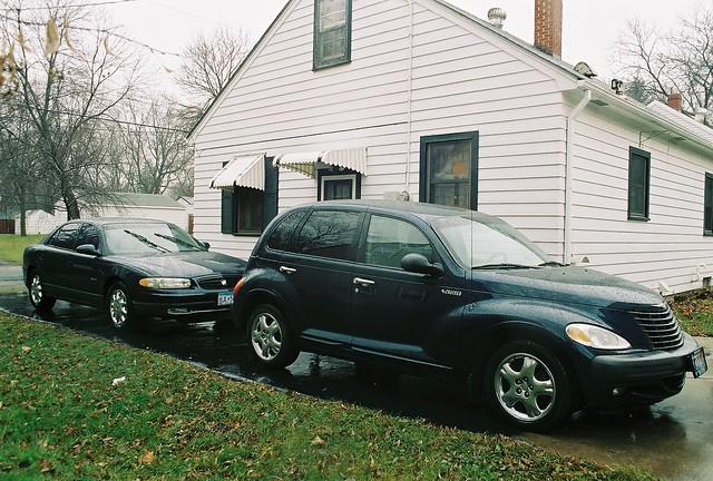 2001 blue cars car buick gm ptcruiser 01 chrysler mopar mycar generalmotors wpc walterpchrysler 4door chryslercorporation dvs1mn
