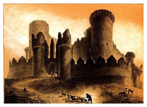 022-Castillo de Belmonte-Recuerdos y bellezas de España Castilla la Nueva Vol 2