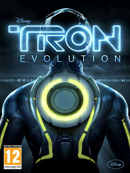 Tron Evolution Video Game Cover