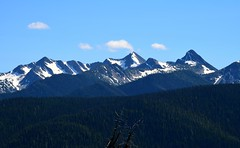 E.C. Manning Provincial Park (careth@2012) Tags: britishcolumbia ecmanningprovincialpark manningpark manningprovincialpark scenery scene scenic view wilderness outdoors landscape trees mountains snowcapped snowcappedmountains sky snow clouds panorama nature