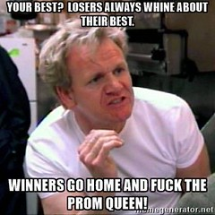Winners and Losers (Tsar Palpatine) Tags: gordon ramsay sean connery the rock