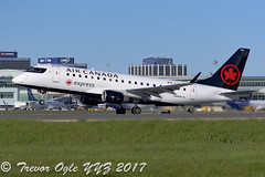 DSC_1479Pmw (T.O. Images) Tags: air canada express maple embraer e175 toronto pearson yyz