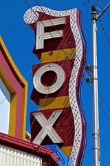 Fox Theatre, McCook, NE (Robby Virus) Tags: mccook nebraska ne fox theatre theater cinema movies concerts marquee neon sign signage world facade