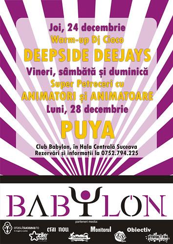 24-28 Decembrie 2009 » Babylon