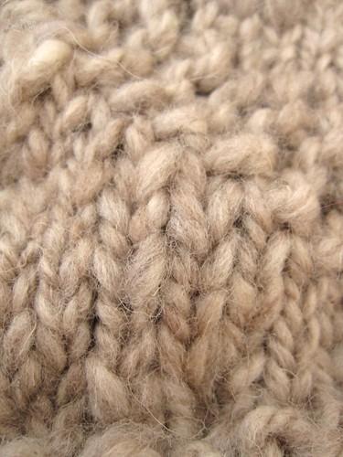 Snail Cowl Closeup