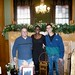 Lou Costa, Debra Johnson and Mike Costa in Governor's Office Rhode Island State House 12/28/09