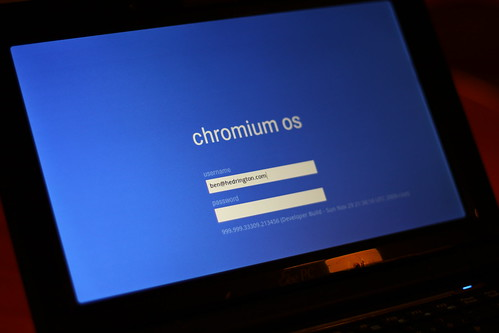 A Hands on Post From and About Google's Chrome OS - buildcontext