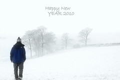 Straight into the new year.... (Nicolas Valentin) Tags: winter snow cold scotland scenery happynewyear 2010 nicolasvalentin
