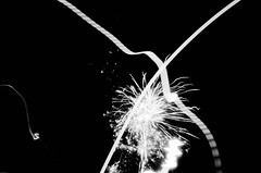 Fireworks and lights (Necator) Tags: bw film newyear 400 push negativescan sh nytr fomapan100 4800dpi canoscan8800f fomadonp chinonce4s 50mmf19autochinon