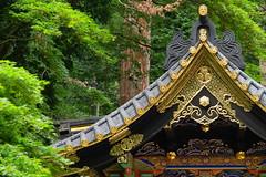 Mansarda con vista (Xelisabetta) Tags: japan canon temple 日本 nippon tempio nikkō 日光市 eos400d xelisabetta elisabettagonzales