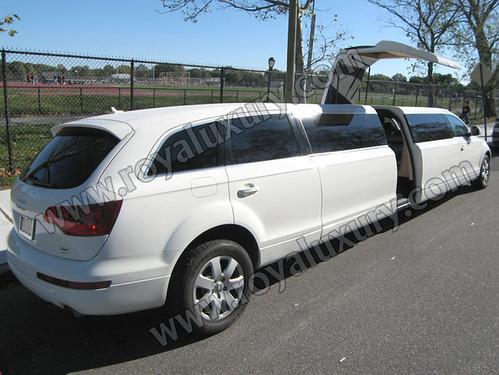 Audi Q7 Limousine. Audi Q7 Limousine (Set)