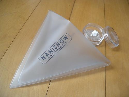 Nanishow packaging