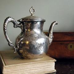 Quadruple Plate Vintage Teapot by Richfield (calloohcallay) Tags: antique housewares teapot homedecor richfield holloware silverplate calloohcallay quadrupleplate
