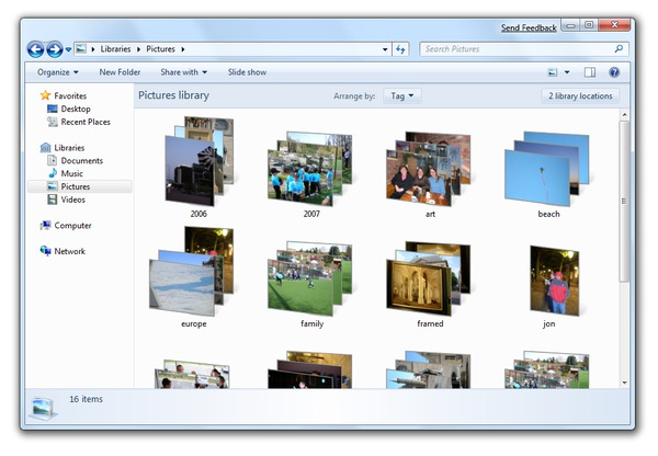 """Windows Explorer"" nuotrauka"