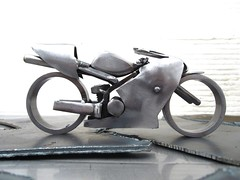 Kawasaki Ninja Race Bike Sculpture