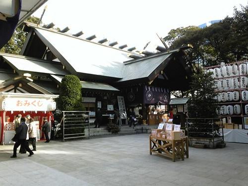 朝なう、東京大神宮だったなう