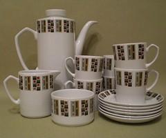 Alfred Meakin 'Random' tea set (the retro co) Tags: china coffee set tea random retro cups 1950s saucers sugarbowl milkjug vintagealfredmeakin