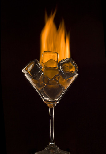 Fire and Ice cubes